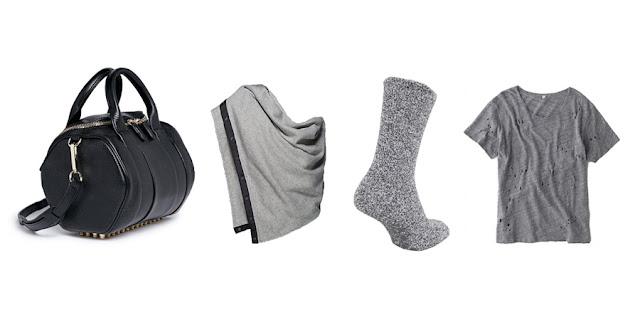Alexander Wang Purse, Lululemon Infinity Scarf, Fuzzy Socks, Holey Tshirt, College Blogger