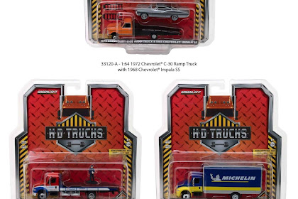 Greenlight HD Truck Series 12