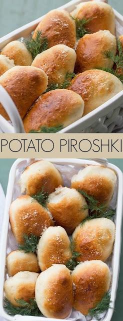 Baked Cheesy Potato Piroshki