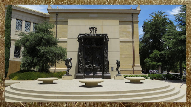 Gates of Hell at the Rodin Sculpture Garden at Stanford University