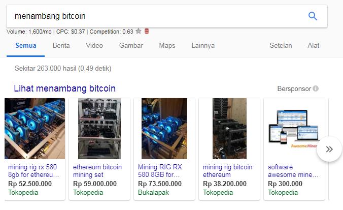 perangkat cryptominingfarm yang dijual bebas