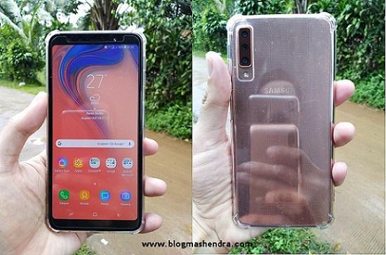 Review Samsung Galaxy A7. Smartphone Triple-Camera Pertama Dari Samsung - Blog Mas Hendra
