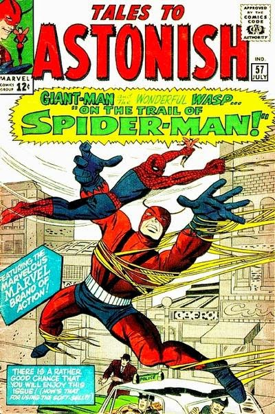 Tales to Astonish #57, Giant-Man vs Spider-Man