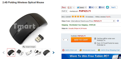 tmart wireless mouse