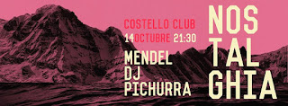 Concierto de Nostalghia y Mendel en Costello Club