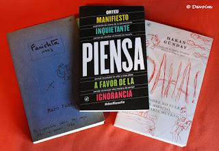 Libros de parte de Catedral Books para el EMB IX