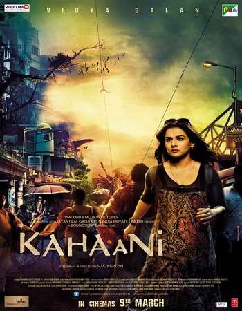 Poster Of Kahaani 2012 Hindi 550MB BRRip 720p ESubs HEVC Watch Online Free Download downloadhub.net