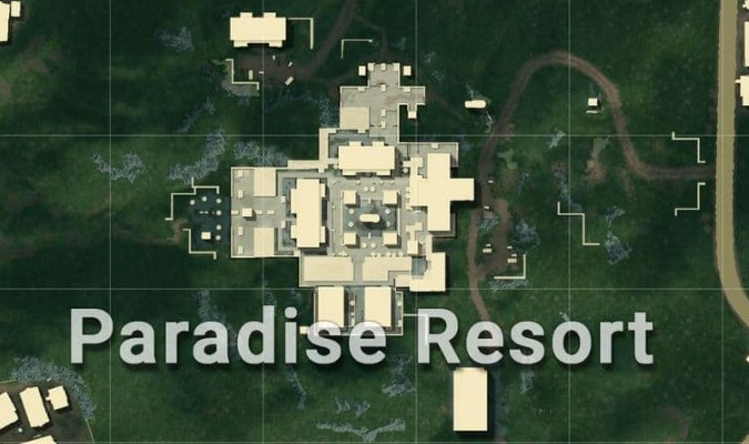 Lokasi Loot Terbaik di Sanhok Map PUBG Mobile - Paradise Resort