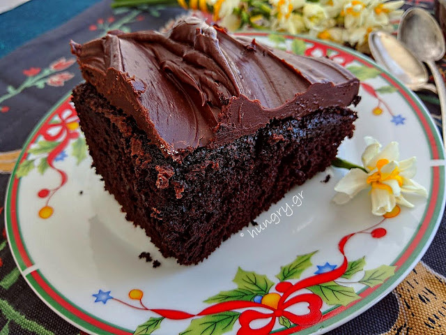 ΖAll-in-One Chocolate Cake