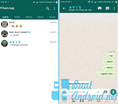BBM Mod Whatsapp Versi 3.2.0.6 Terbaru