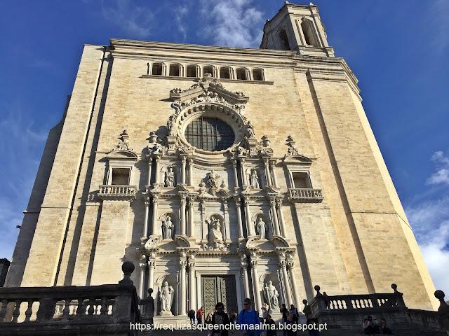 Catedral de Santa Maria, Fachada principal, Girona
