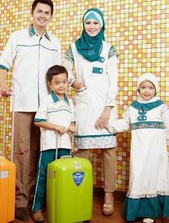 Contoh Busana Muslim Keluarga