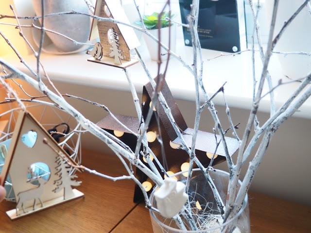 christmas tree twig decoration