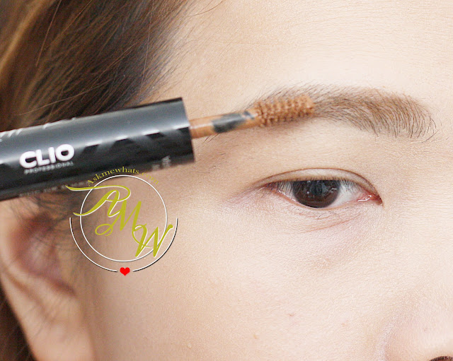 a photo of CLIO Tinted Tattoo Kill Brow in Soft Brown