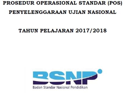 Download POS UN SMP/MTs/SMA/MA/MAK/SMK 2018 Edisi Revisi Terbaru