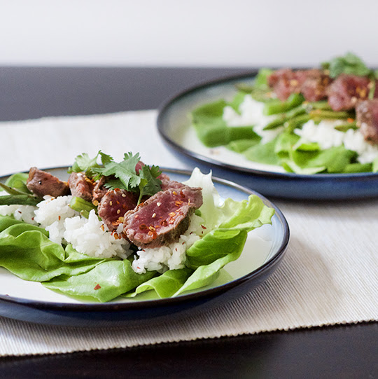Thai Steak Lettuce Cups