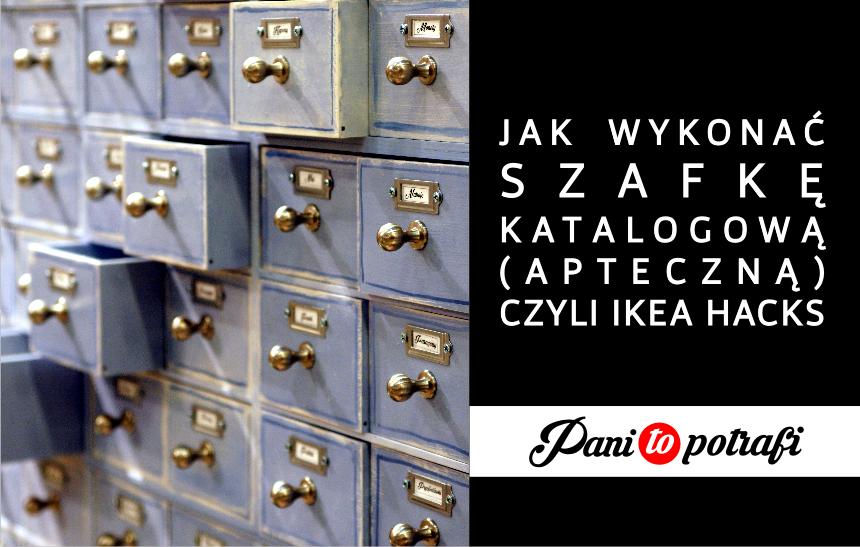 szafka katalogowa