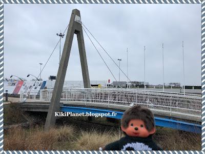 pont de Normandie, le havre, seine maritime,  haubans, monchhichi, kiki, vintage, jouet