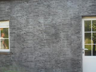 Hormigón impreso vertical en Castellón
