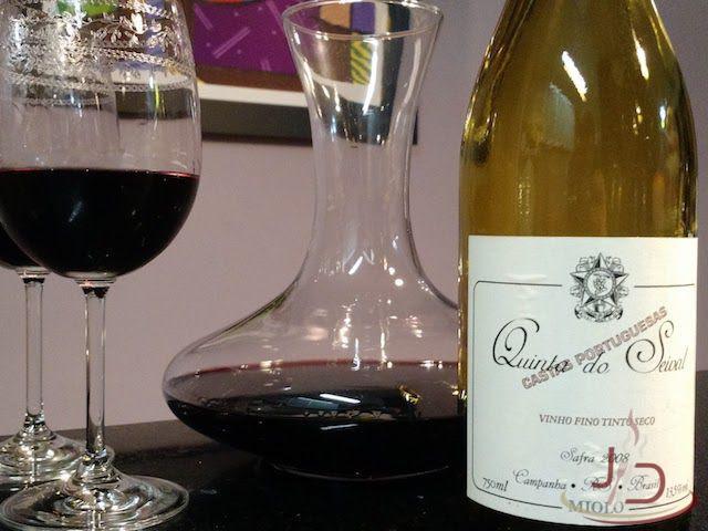 foto do vinho quinta do seival