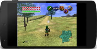 Mega N64 Emulator interface