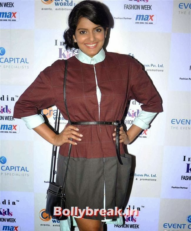 Vishakha Singh, Celebs at India Kids Fashion Week 2014