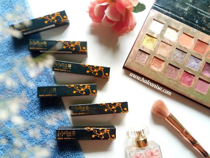 Review Lipstick Lokal - Meika Cosmetic