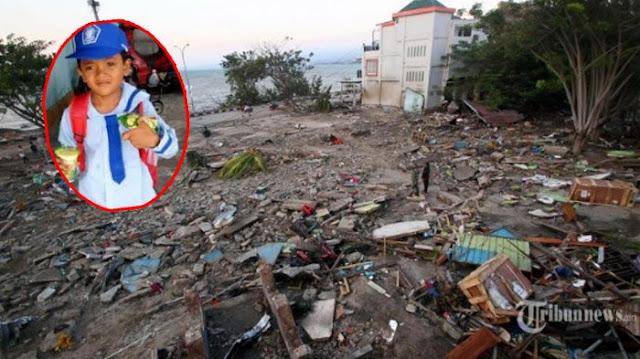 Kisah Qurun, Bocah 6 Tahun yang Selamat Dari Tsunami di Palu