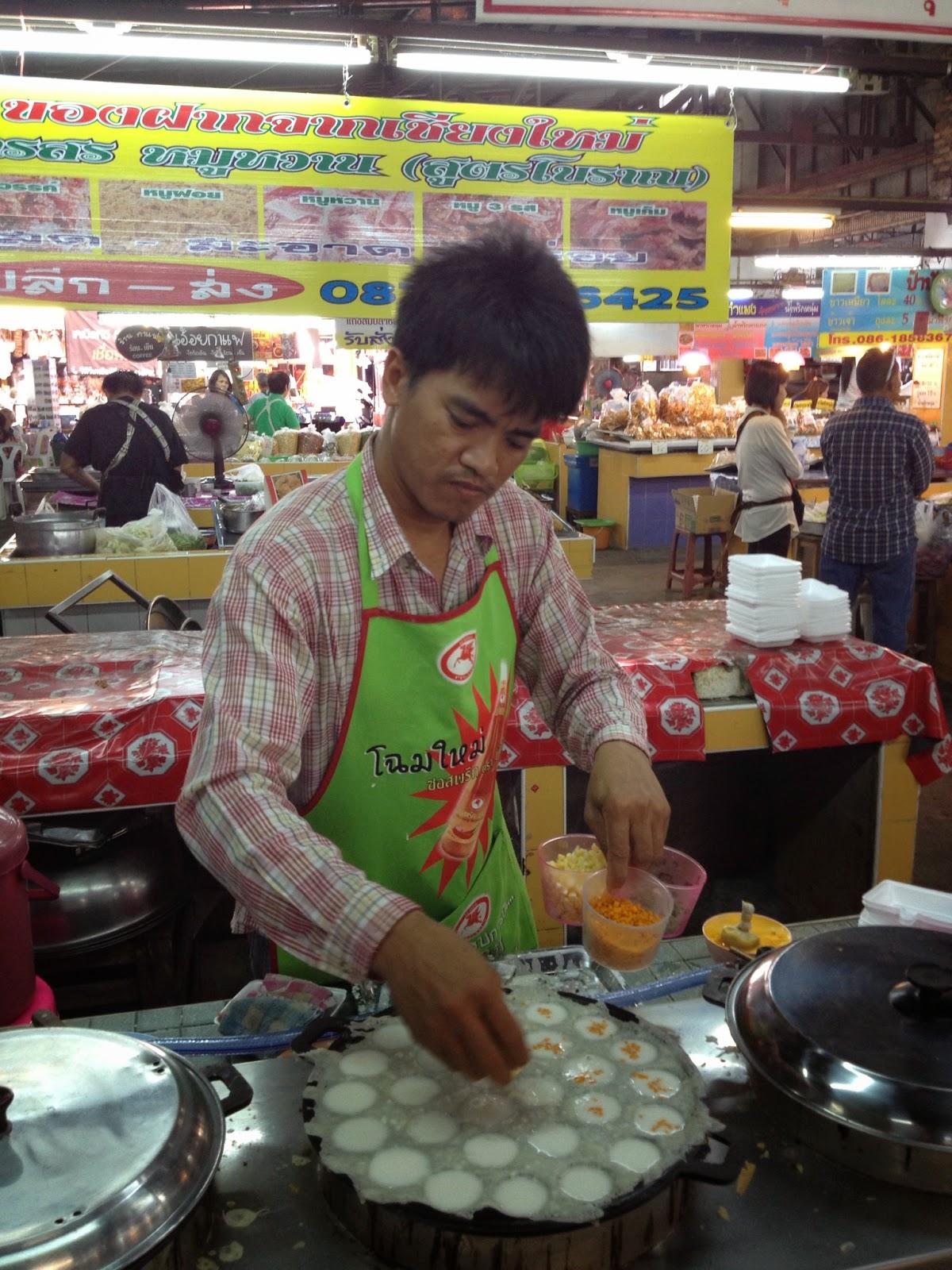 Chiang Mai - More coconut milk custard tarts!