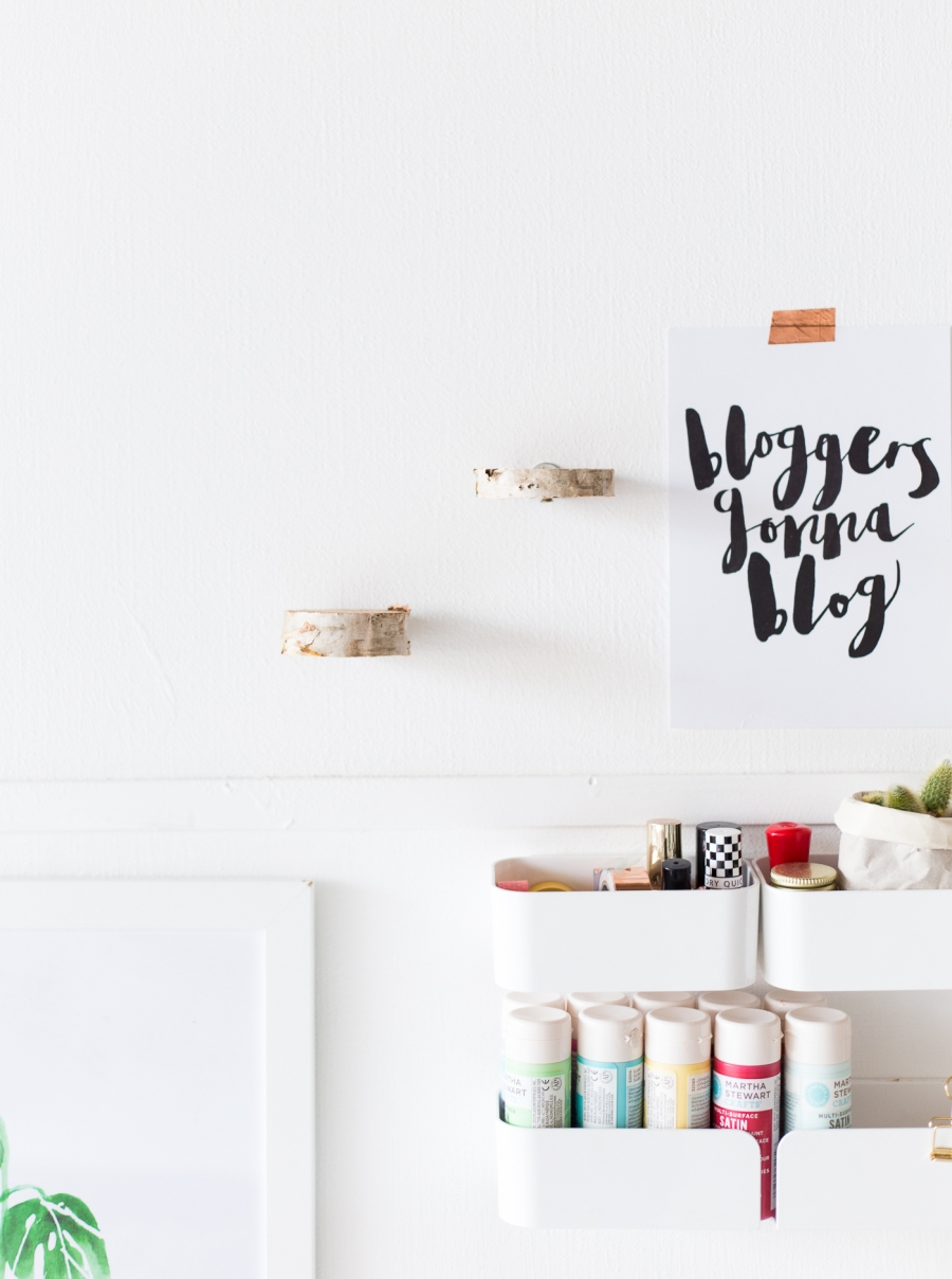 DIY - Pływające półki z brzozowych krążków, zrób to sam, tutorial, krok po kroku, home decor, dekoracje, ozdoby, eko, eco, styl skandynawski, scandinavian style