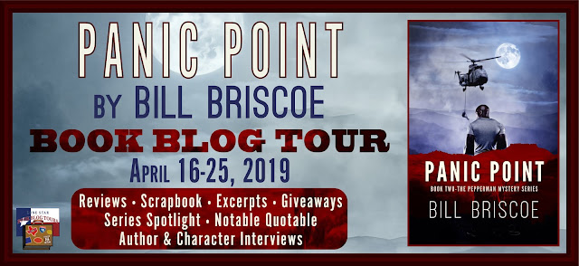 TEXAS BOOK LOVER: Book Trailer & Giveaway: PANIC POINT by