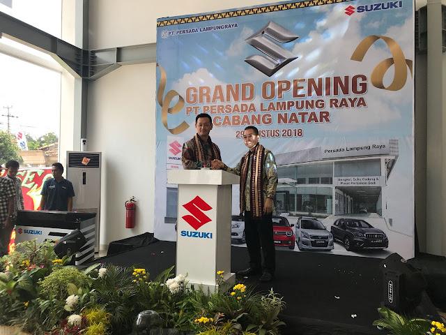 Lebih Dekat Dengan Konsumen, Suzuki Resmikan Outlet Ke-326 Di Lampung Selatan