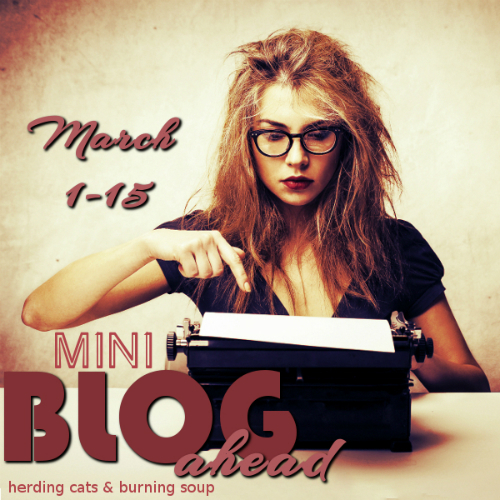 Signing up for Mini Blog Ahead #1