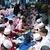 Sambut Tahun Baru Islam 1438 Hijriah, Siswa SDIT Ukhuwah Bagikan 1000 Nasi Bungkus