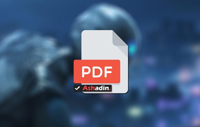 Cara Convert Size PDF yang mempunyai kualitas tinggi