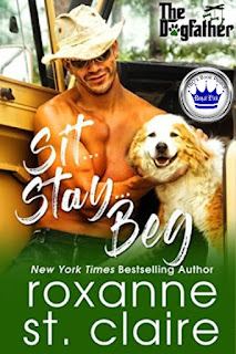 contemporary romance, romance novel covers, Sit, Stay, Beg by Roxanne St. Claire, Royal Pick
