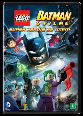 Batman Lego O Filme - Super Heróis Se Unem