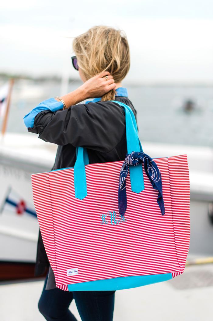 Ame and Lulu Land to Sea Tote