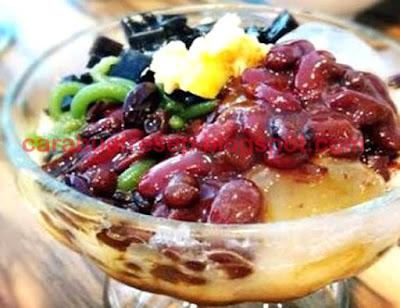 Foto Resep Es Campur Medan Sederhana Spesial Asli Enak