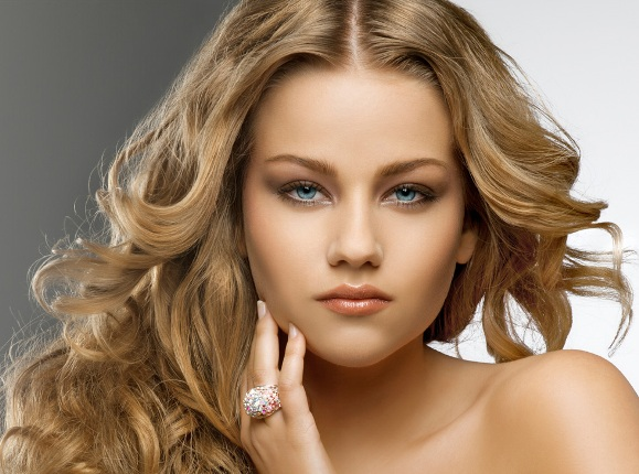 Makeup for blondes What make-up suits blondes / photo ...