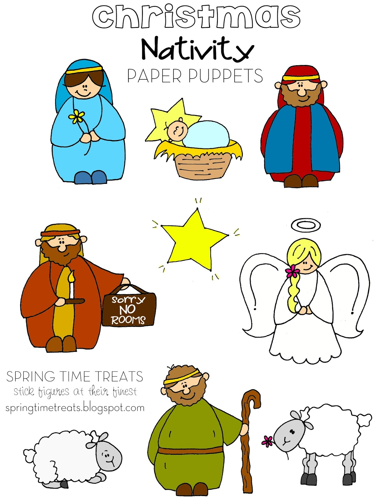 Spring Time Treats: Don't Eat Pete - Nativity version FREE ...