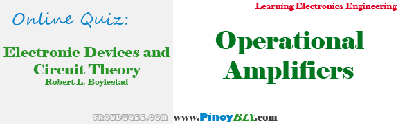 Practice Quiz in Operational Amplifiers