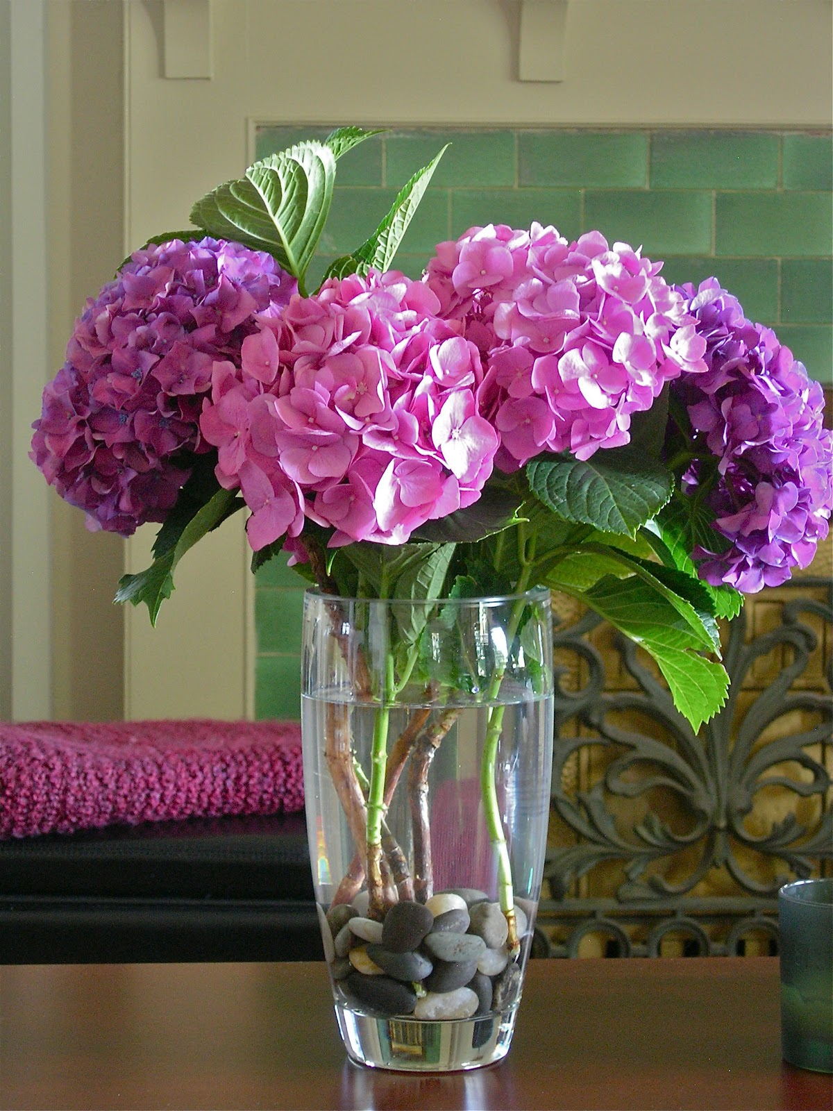My Little Bungalow Pink And Purple Hydrangea