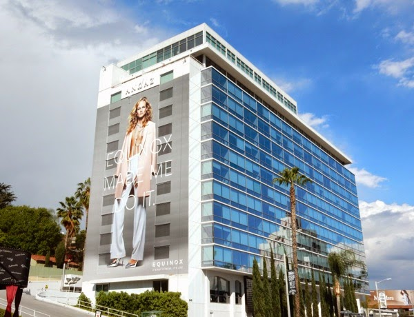 Giant Equinox transgender billboard Sunset Strip