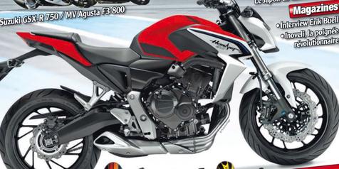 Honda Siapkan 'CB' Hornet 800cc Terbaru