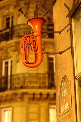 Tiendas de música de la Rue de Rome Rue de Madrid