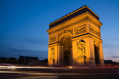 Arc de Triomphe at Twilight