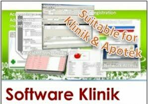 Software Klinik, Rumah Sakit, Balai Pengobatan, Praktik Dokter, Klinik Pratama