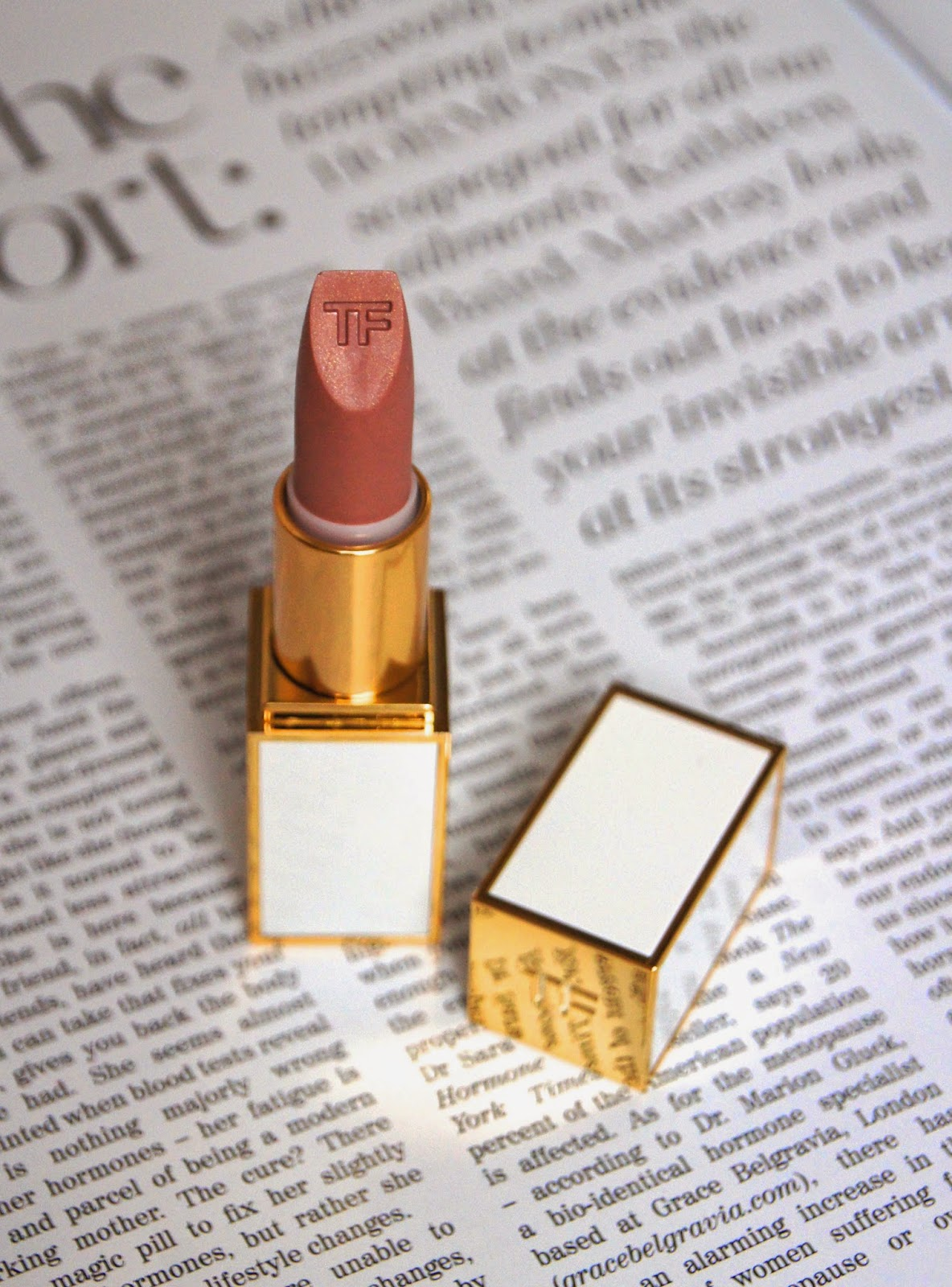 tom ford 01 in the buff lip color sheer lipstick review