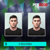 PES 6 Faces Paulo Dybala by El SergioJr